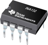 INA132 (ACTIVE) Low Power, Single-Supply Difference Amplifier